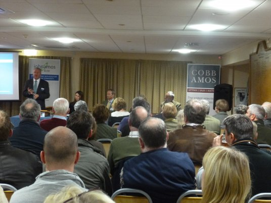 Farmers Update Meeting at The Luctonians